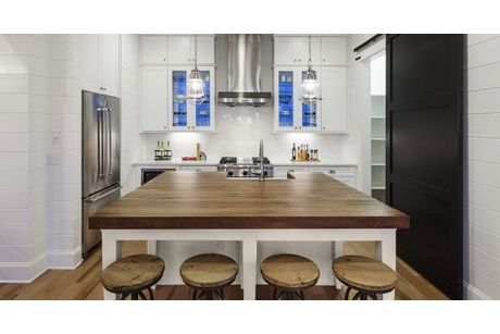 Kitchen-in-The Summerside, Ashton Woods Homes-at-Holding Village-in-Wake Forest