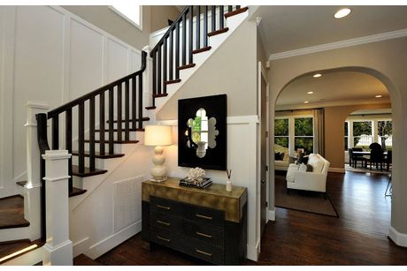 Stairway-in-Reese, Drees Homes-at-Holding Village-in-Wake Forest