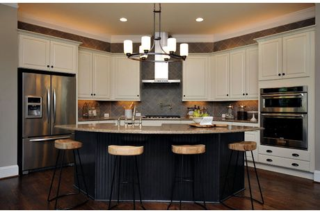 Kitchen-in-Reese, Drees Homes-at-Holding Village-in-Wake Forest