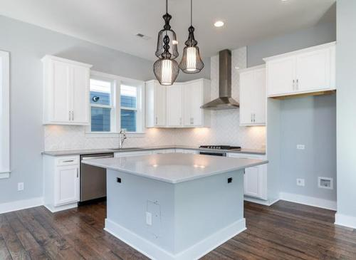Kitchen-in-The Heron, Ashton Woods-at-Holding Village-in-Wake Forest