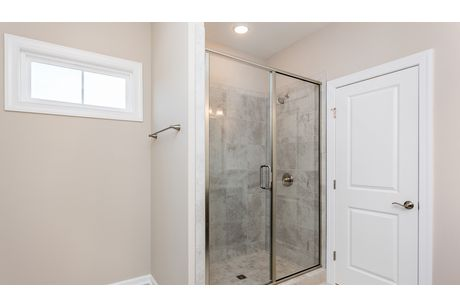 Bathroom-in-The Continental by John Wieland-at-Holding Village-in-Wake Forest