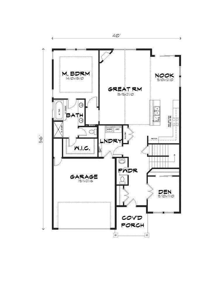 The 2260 2 Car Garage Plan Camas Washington 98607
