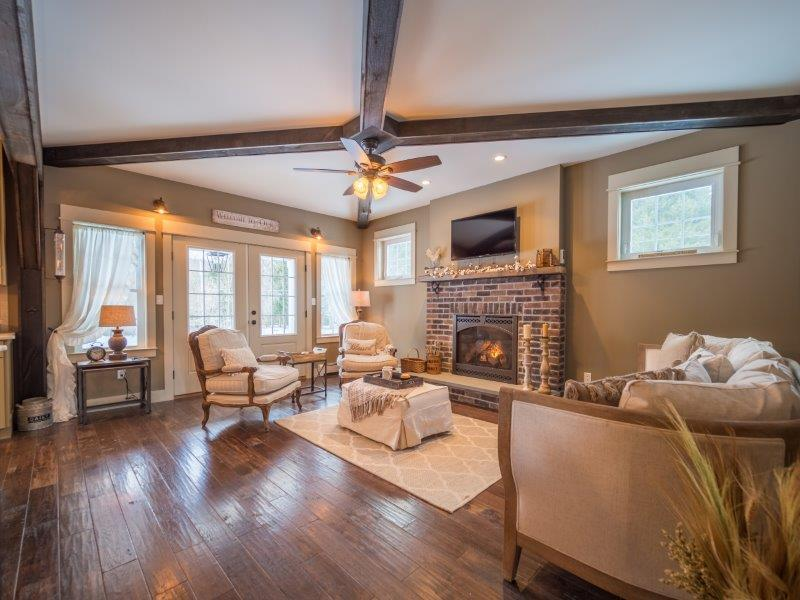 Living Area featured in the Realty Community Floor Plan By Realty Promotions, Inc.