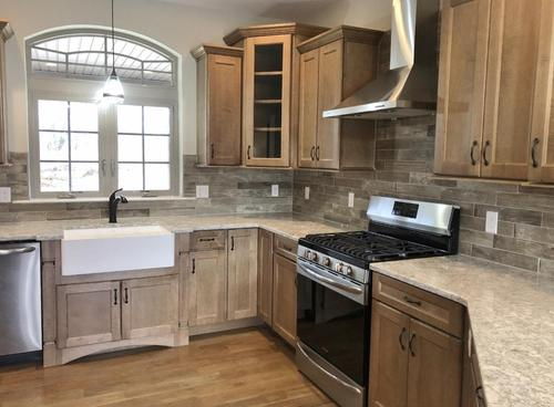 Kitchen-in-The Sage-at-Mountain View at Gardiner-in-New Paltz