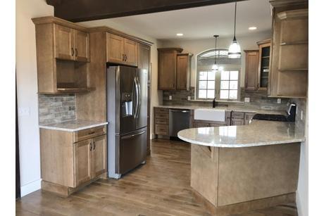 Kitchen-in-The Sage-at-Mountain View at Gardiner-in-New Paltz