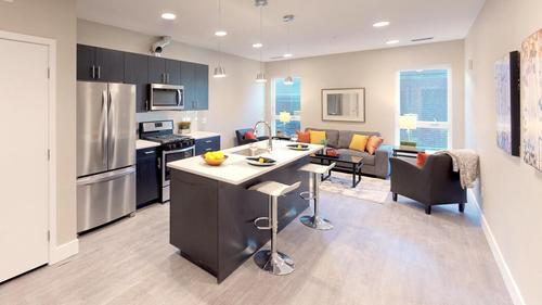 Greatroom-and-Dining-in-Type 01 - 1BR-at-Observatory Flats-in-Denver