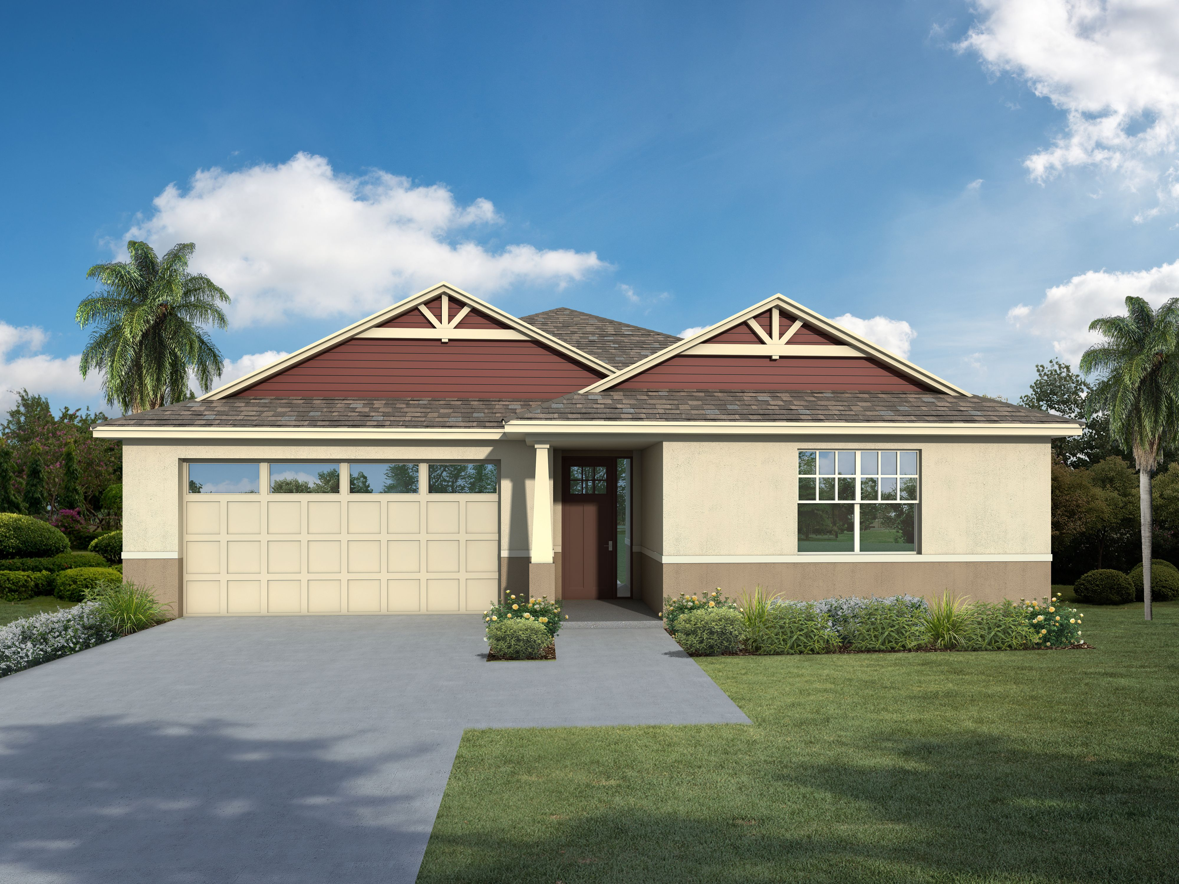 Exterior featured in the Buckley By Regal Park Homes in Orlando, FL