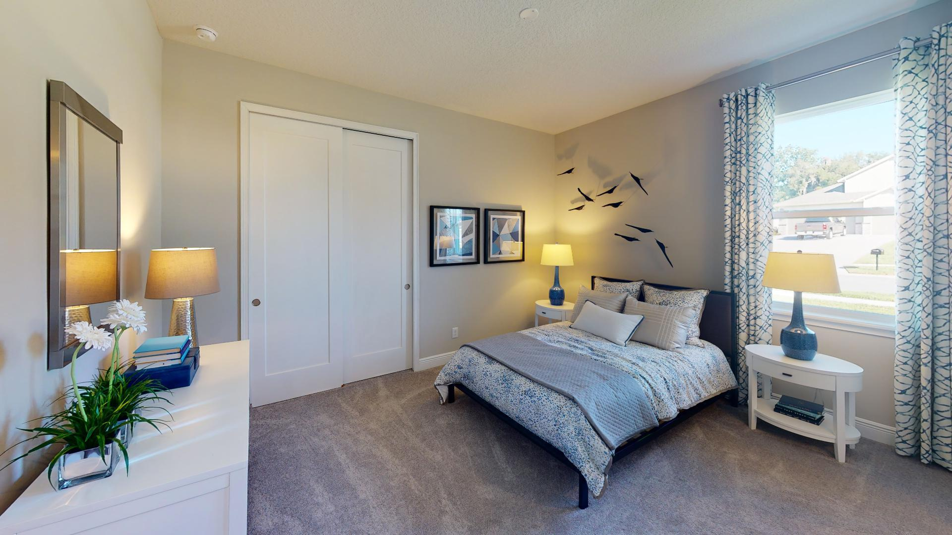Bedroom featured in the Linburn II By Regal Park Homes in Orlando, FL