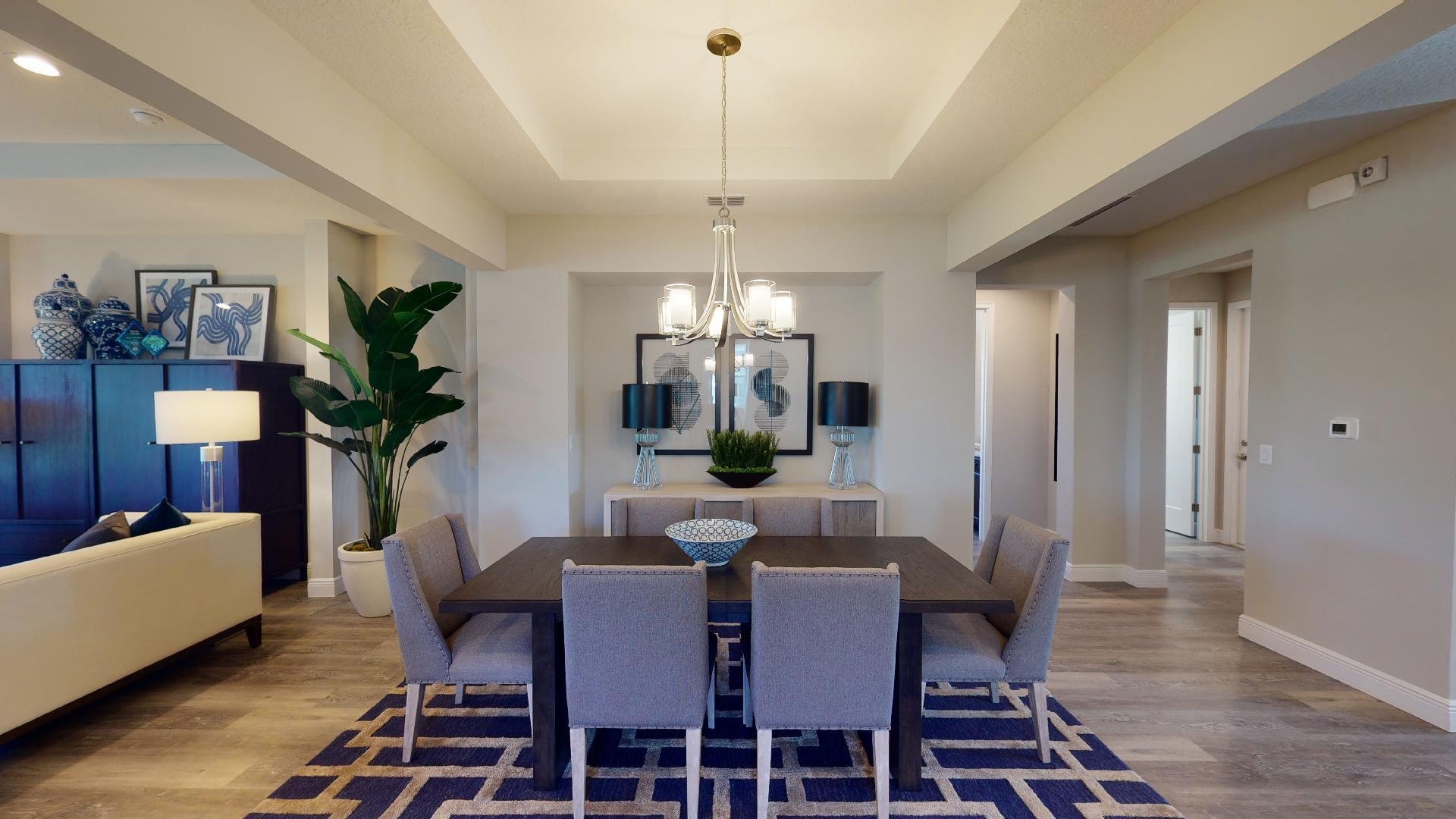 Living Area featured in the Linburn II By Regal Park Homes in Orlando, FL