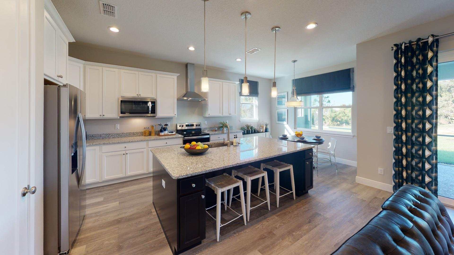 Kitchen featured in the Linburn II By Regal Park Homes in Orlando, FL