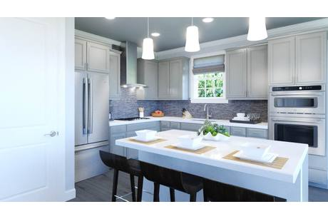 Kitchen-in-The Milford-at-Noble's Pond-in-Dover