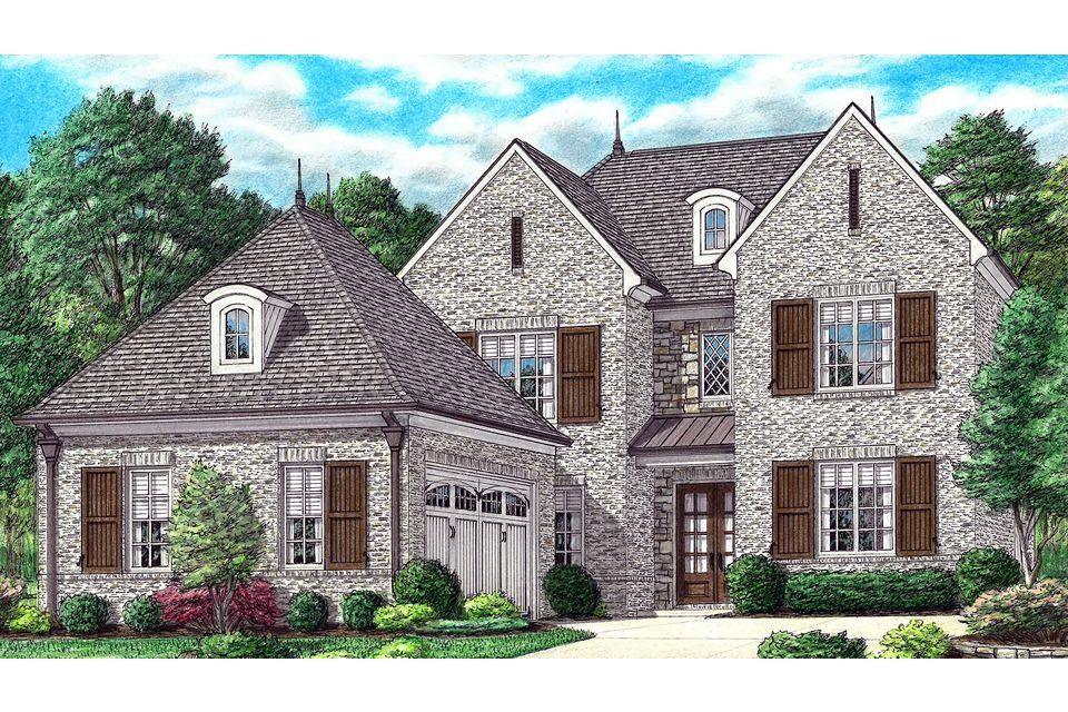 Exterior featured in the Gilmore By Regency Homebuilders in Memphis, TN