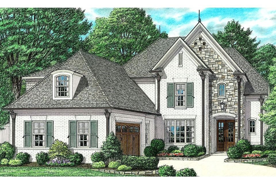 Exterior featured in the Halle By Regency Homebuilders in Memphis, TN
