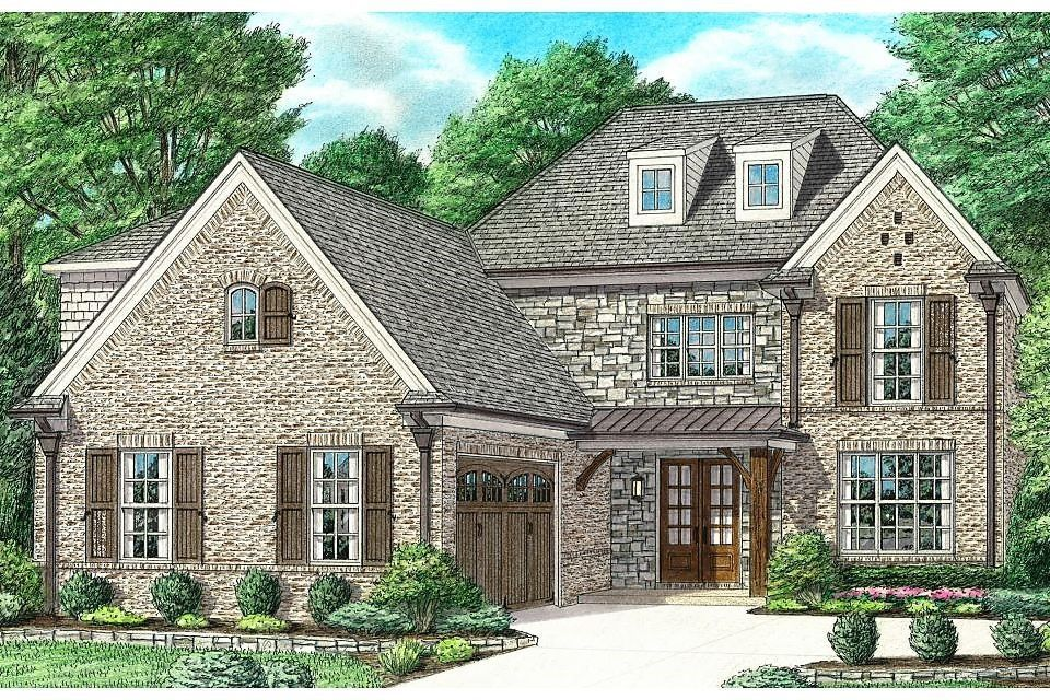 Exterior featured in the Oakleigh By Regency Homebuilders in Memphis, TN