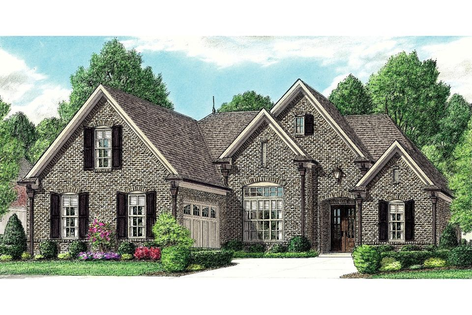 Exterior featured in the Delaney By Regency Homebuilders in Memphis, TN