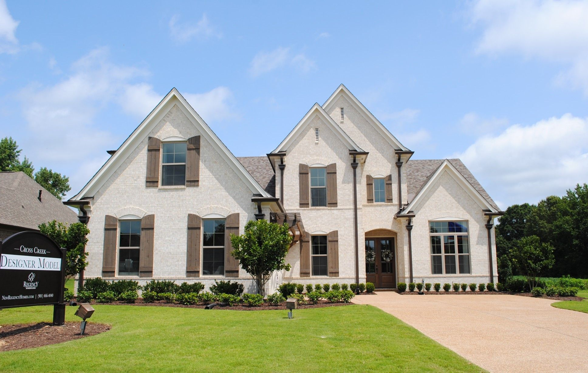 Exterior featured in the Abbington By Regency Homebuilders in Memphis, TN