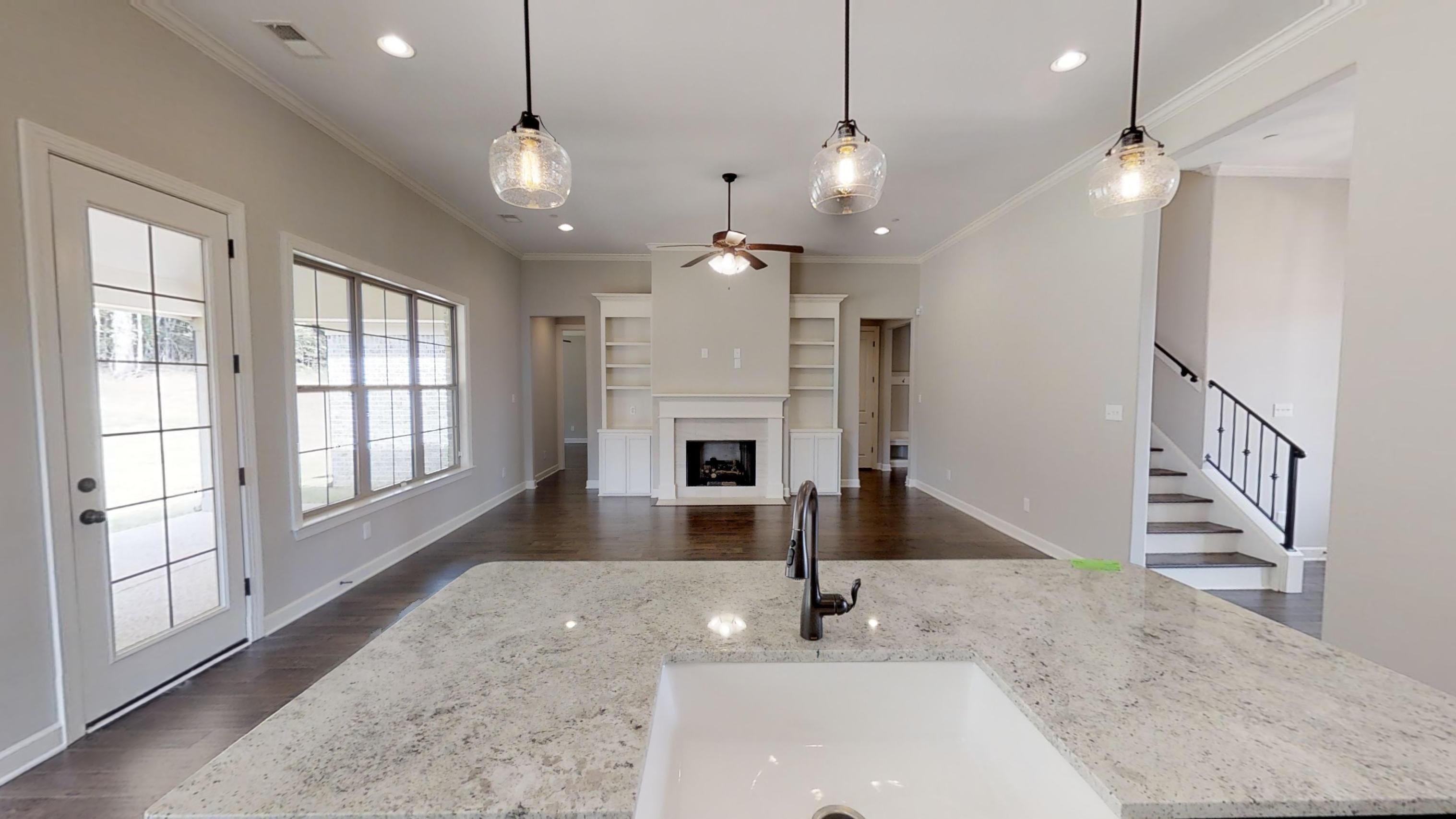 Kitchen featured in the Abbington By Regency Homebuilders in Memphis, TN