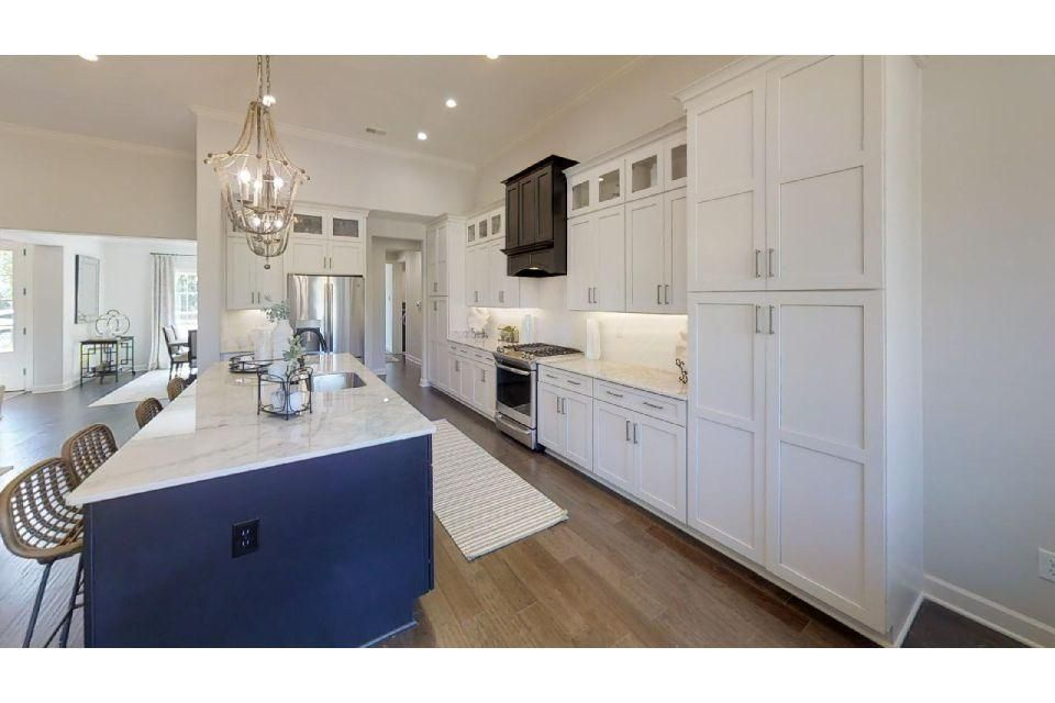 Kitchen featured in the Carrington By Regency Homebuilders in Memphis, TN