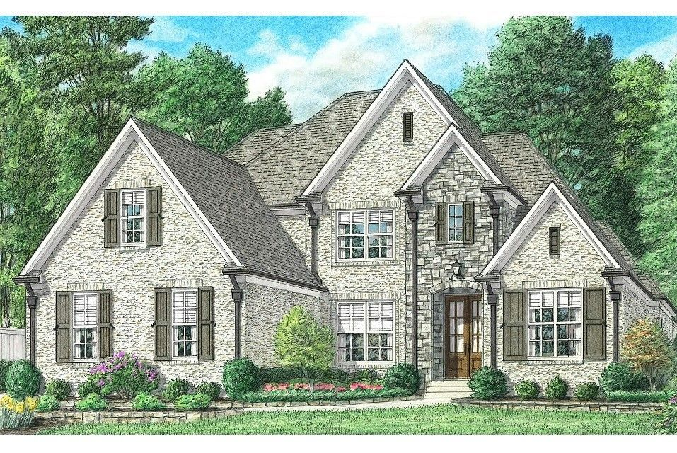Exterior featured in the Winstead By Regency Homebuilders in Memphis, TN
