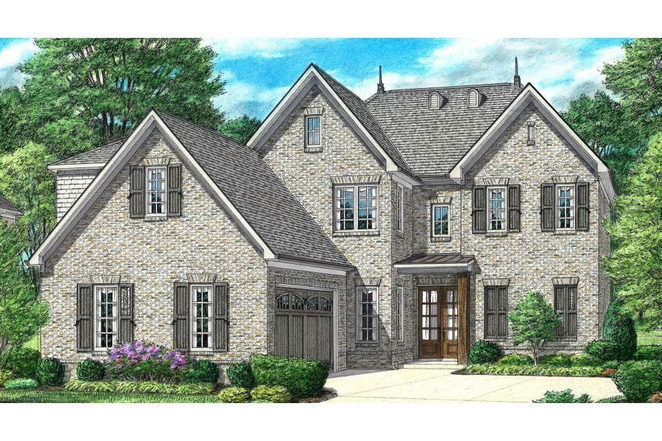 Exterior featured in the Kirby By Regency Homebuilders in Memphis, TN