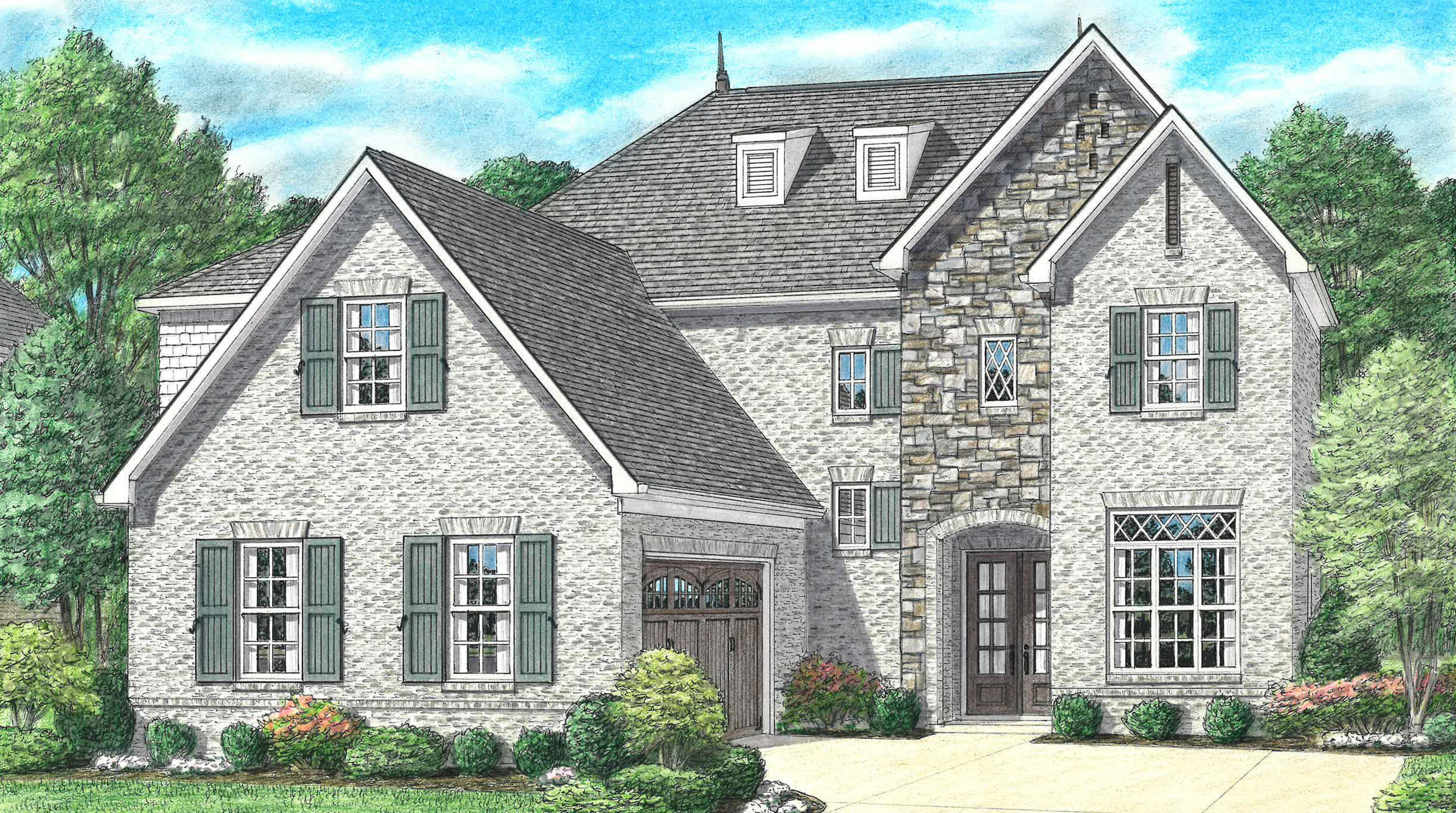 Exterior featured in the Massey By Regency Homebuilders in Memphis, TN
