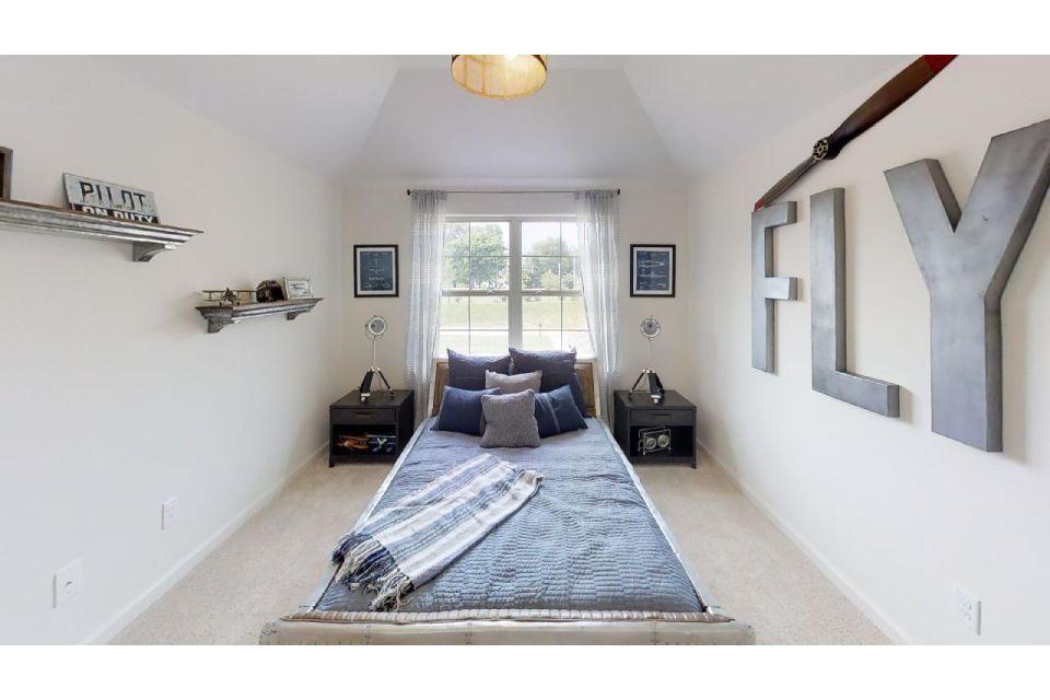 Bedroom featured in the Bradbury By Regency Homebuilders in Memphis, MS
