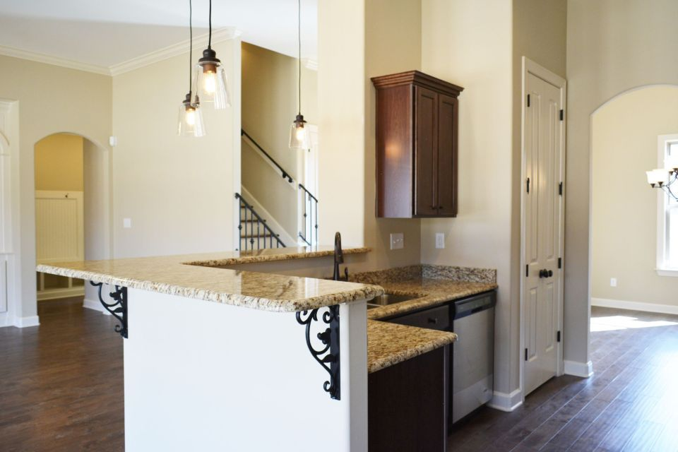Kitchen featured in the Fitzgerald By Regency Homebuilders in Memphis, MS