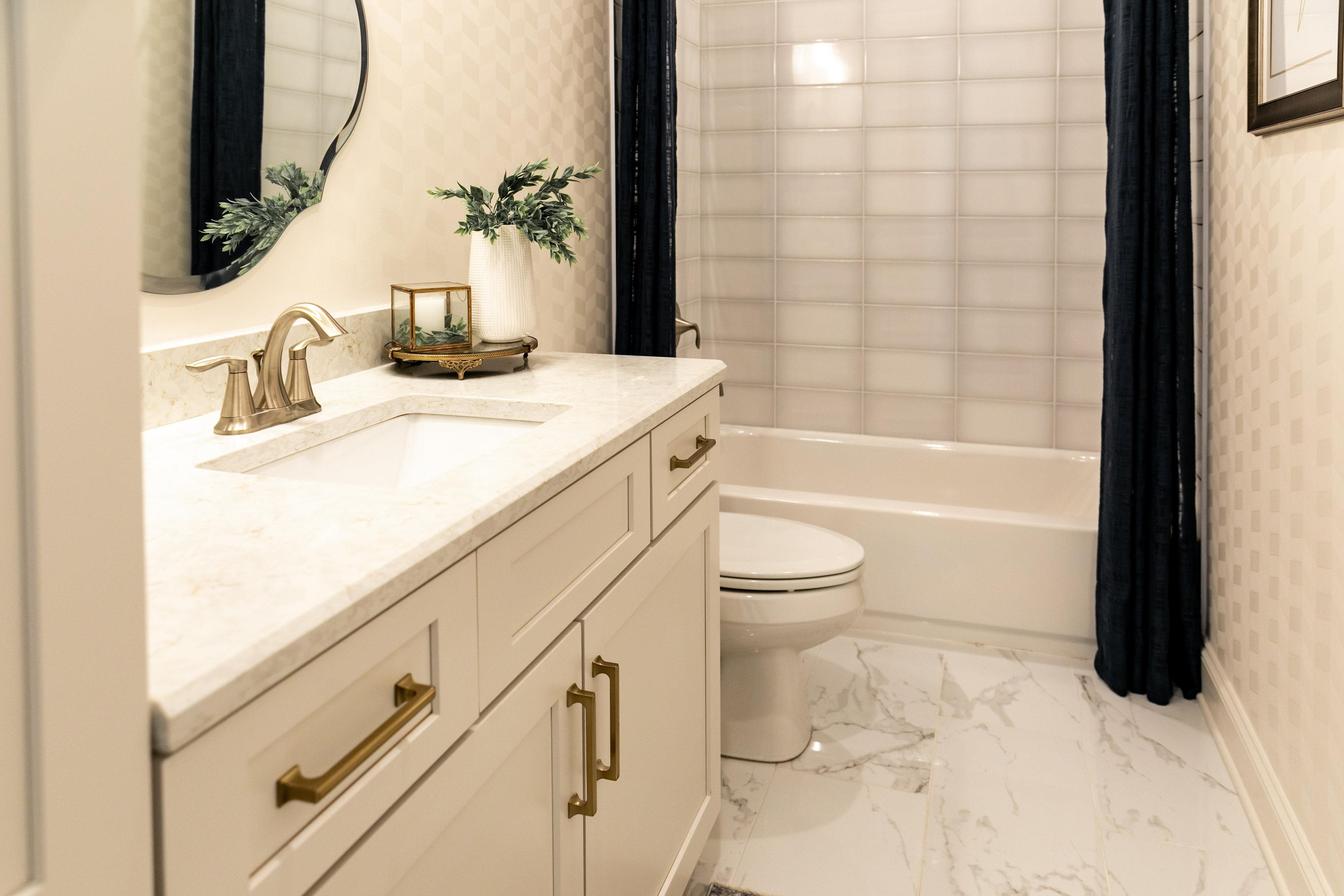 Bathroom featured in the Riverside By Regency Homebuilders in Memphis, TN