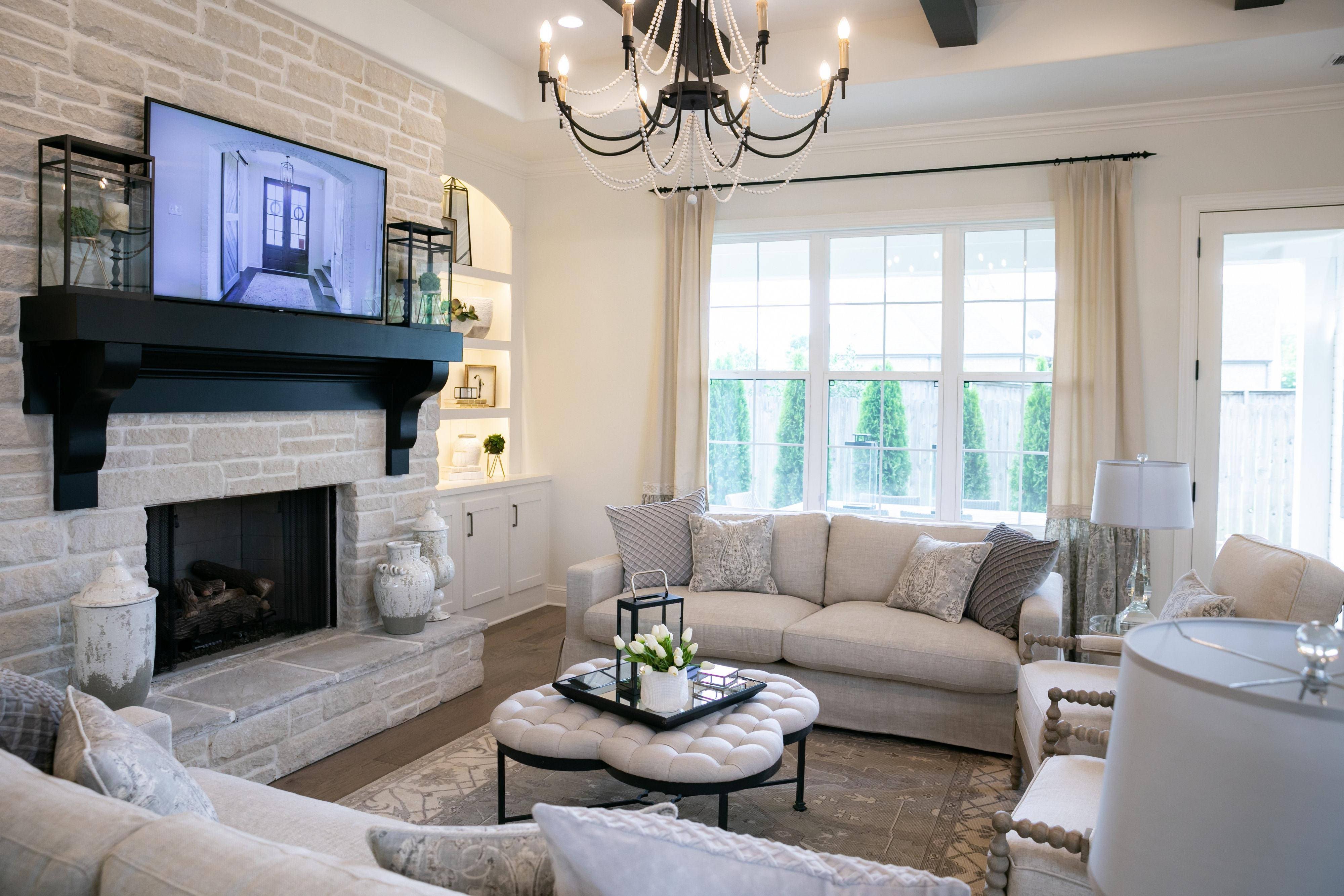 Living Area featured in the Riverside By Regency Homebuilders in Memphis, TN