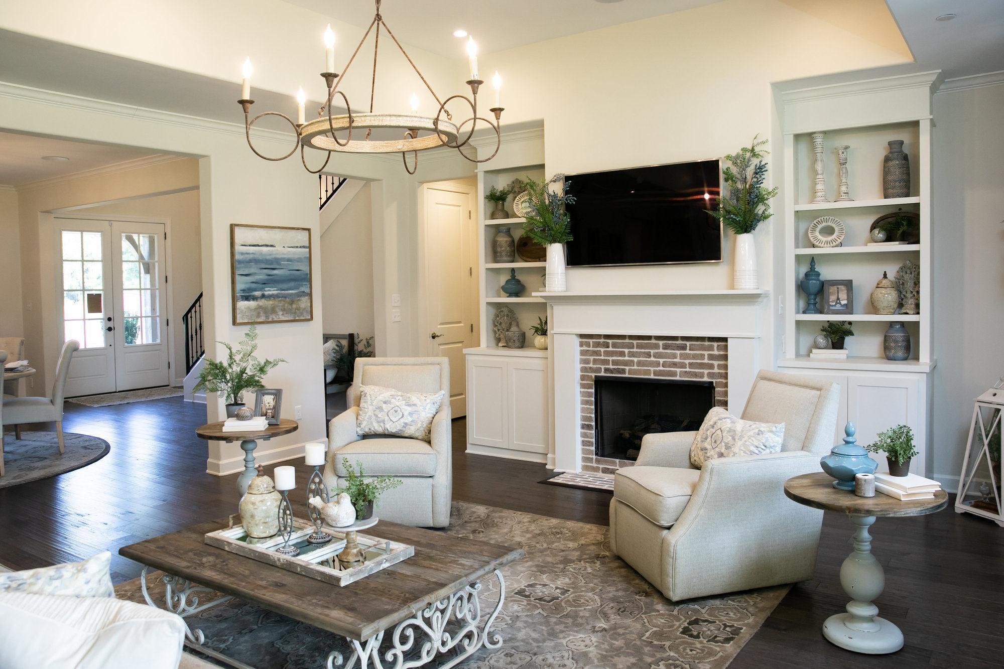 Living Area featured in the Stonebridge By Regency Homebuilders in Memphis, TN