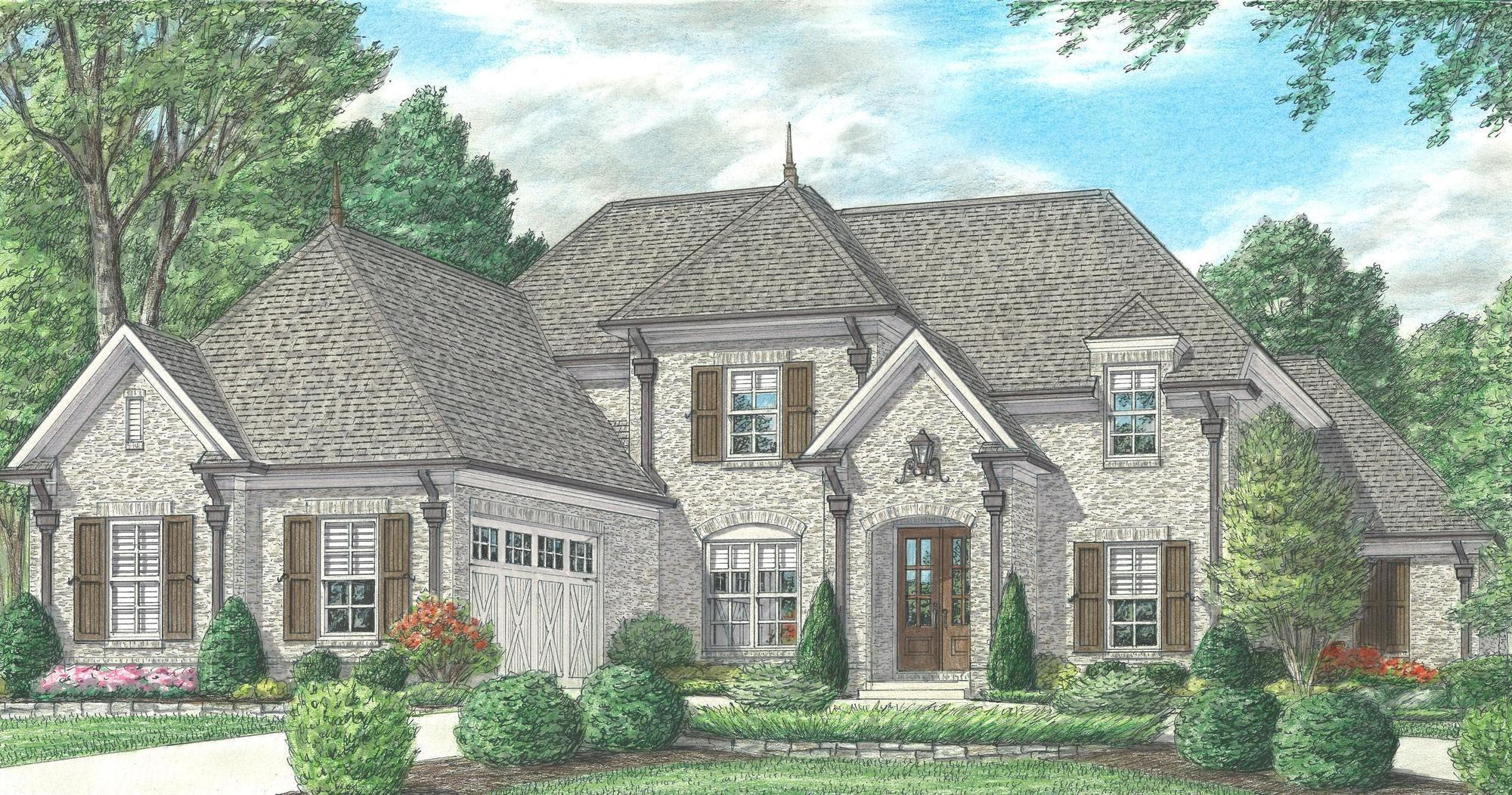 'Kensington Manor' by Regency Homebuilders in Memphis