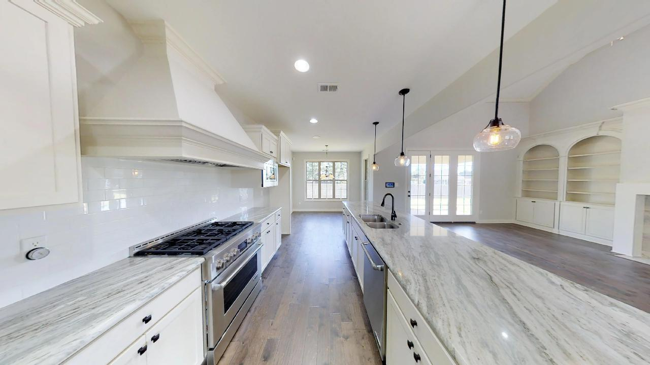 Kitchen featured in the Westfall By Regency Homebuilders in Memphis, TN
