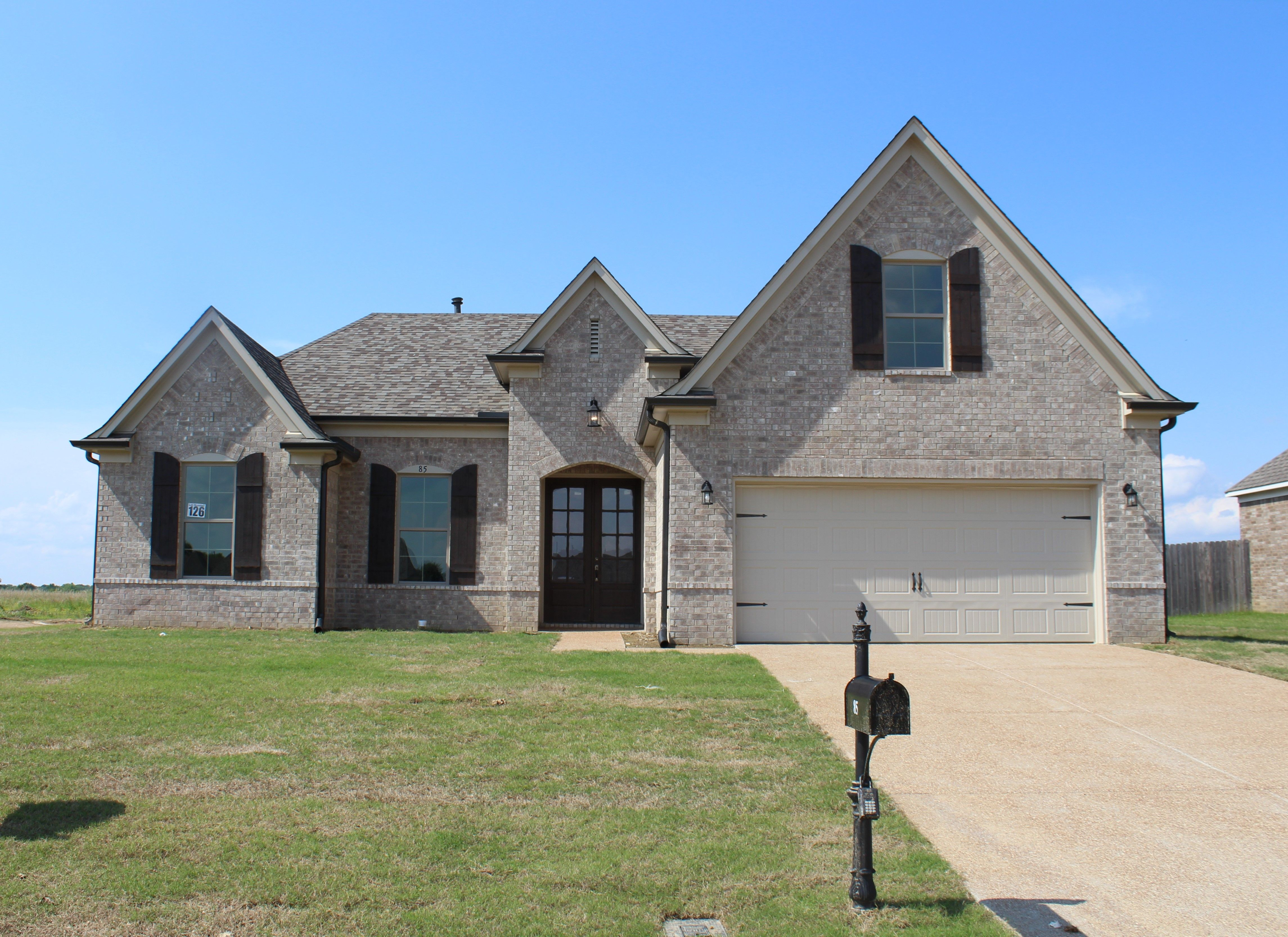 Exterior featured in the Henderson By Regency Homebuilders in Memphis, TN