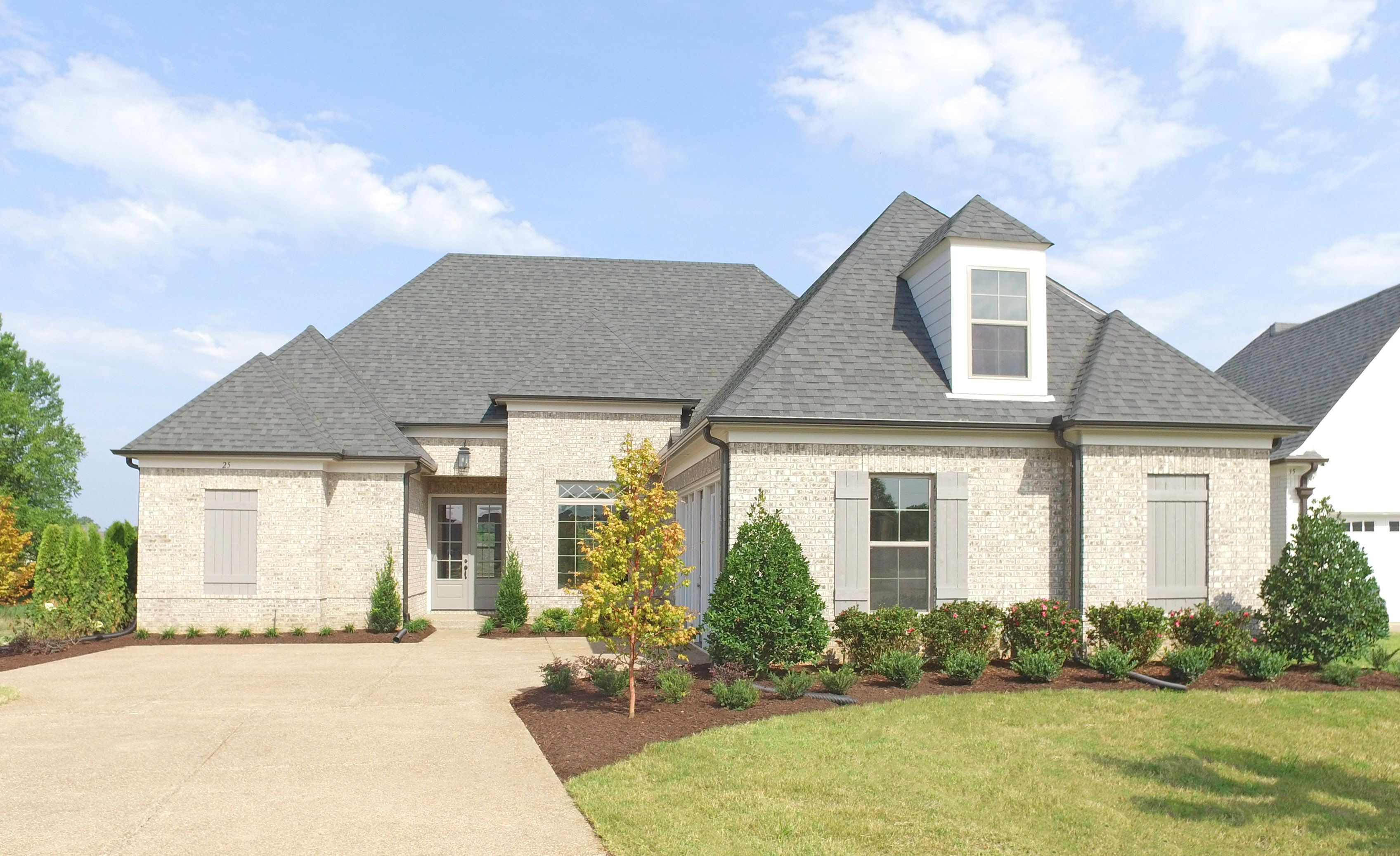 Exterior featured in the Carlisle By Regency Homebuilders in Memphis, TN