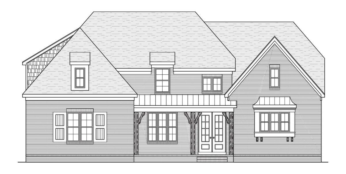 Exterior featured in the Reed By Regency Homebuilders in Memphis, TN