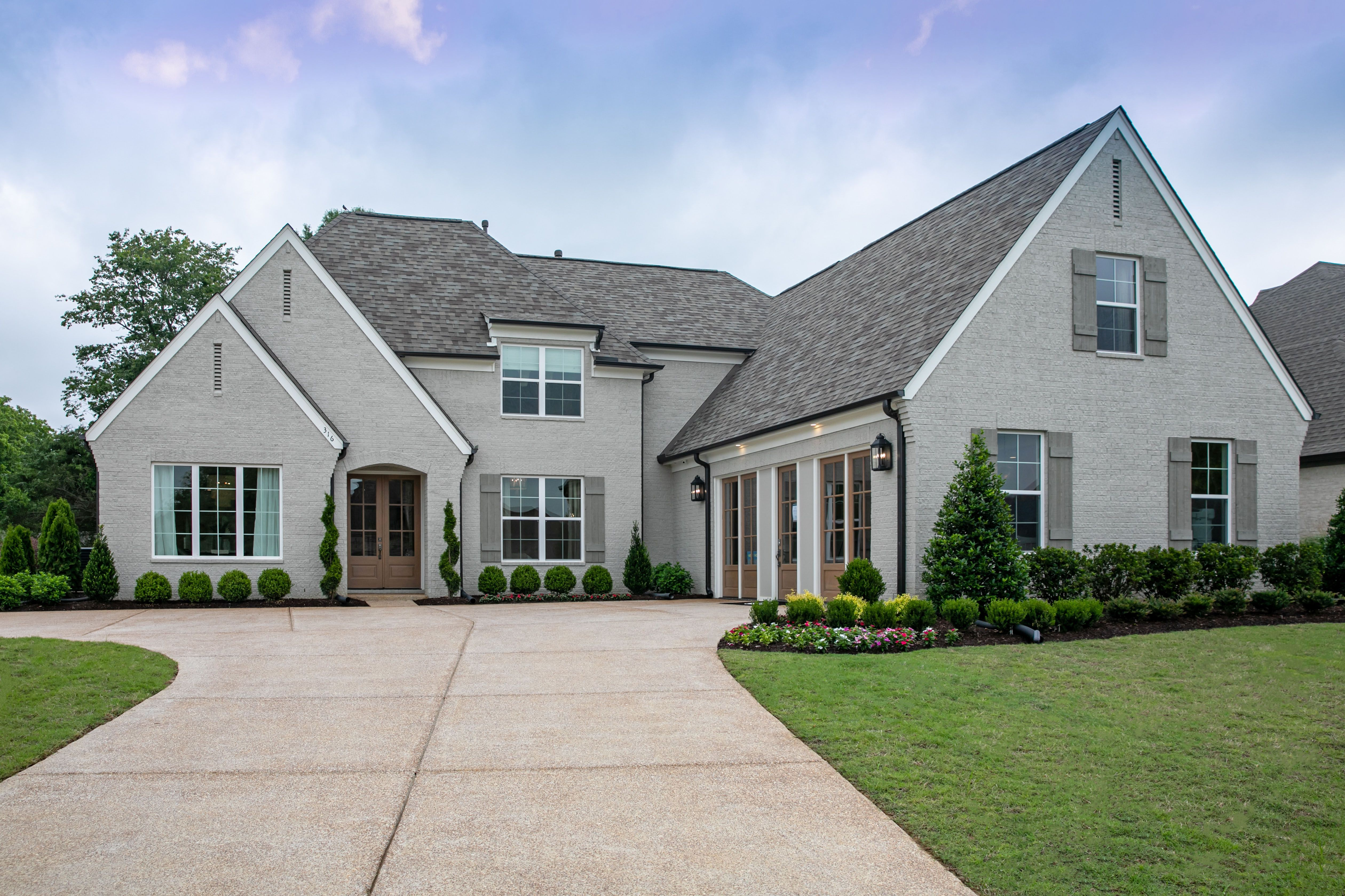 Exterior featured in the Graham By Regency Homebuilders in Memphis, TN
