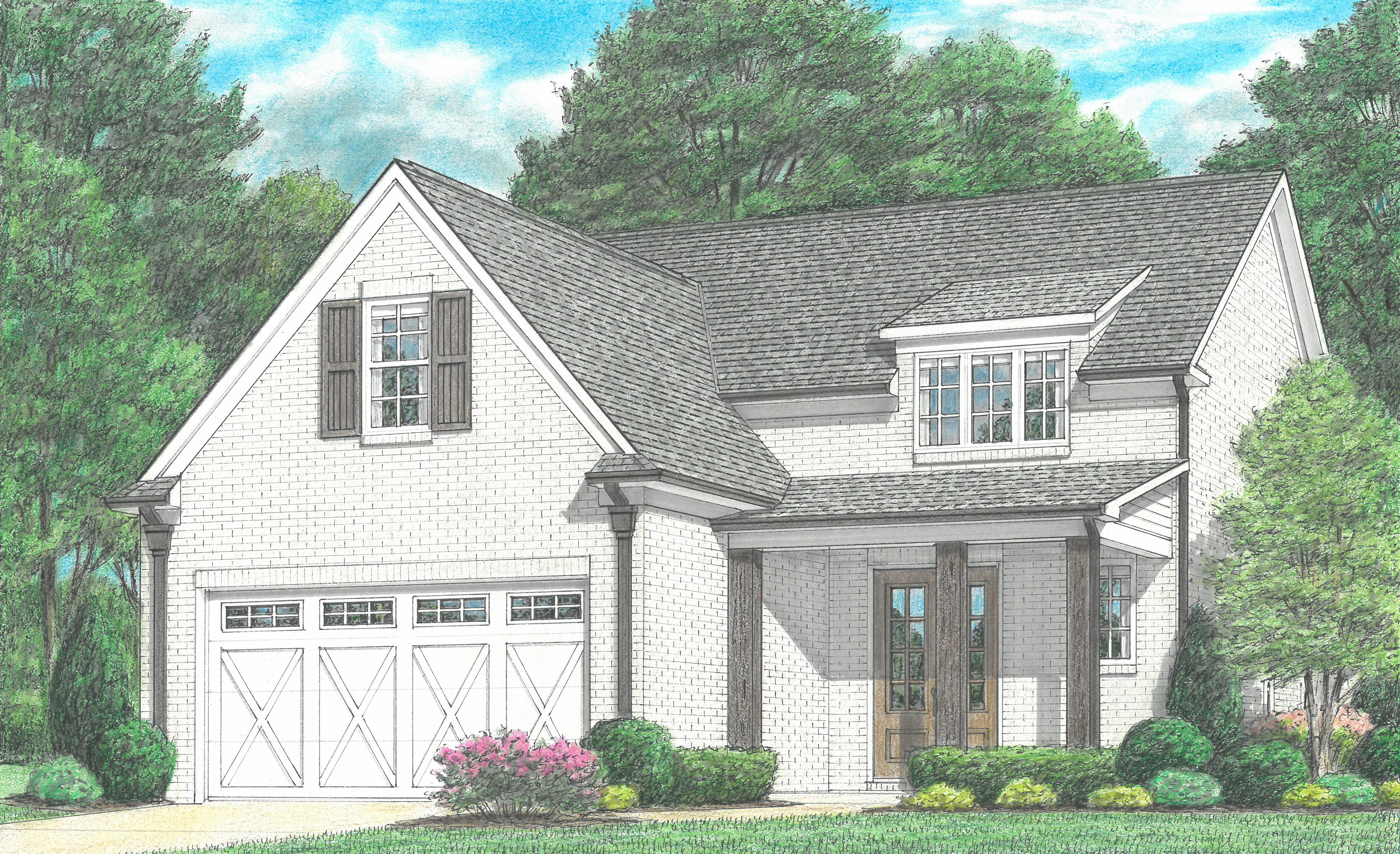 Exterior featured in the Callahan By Regency Homebuilders in Memphis, TN
