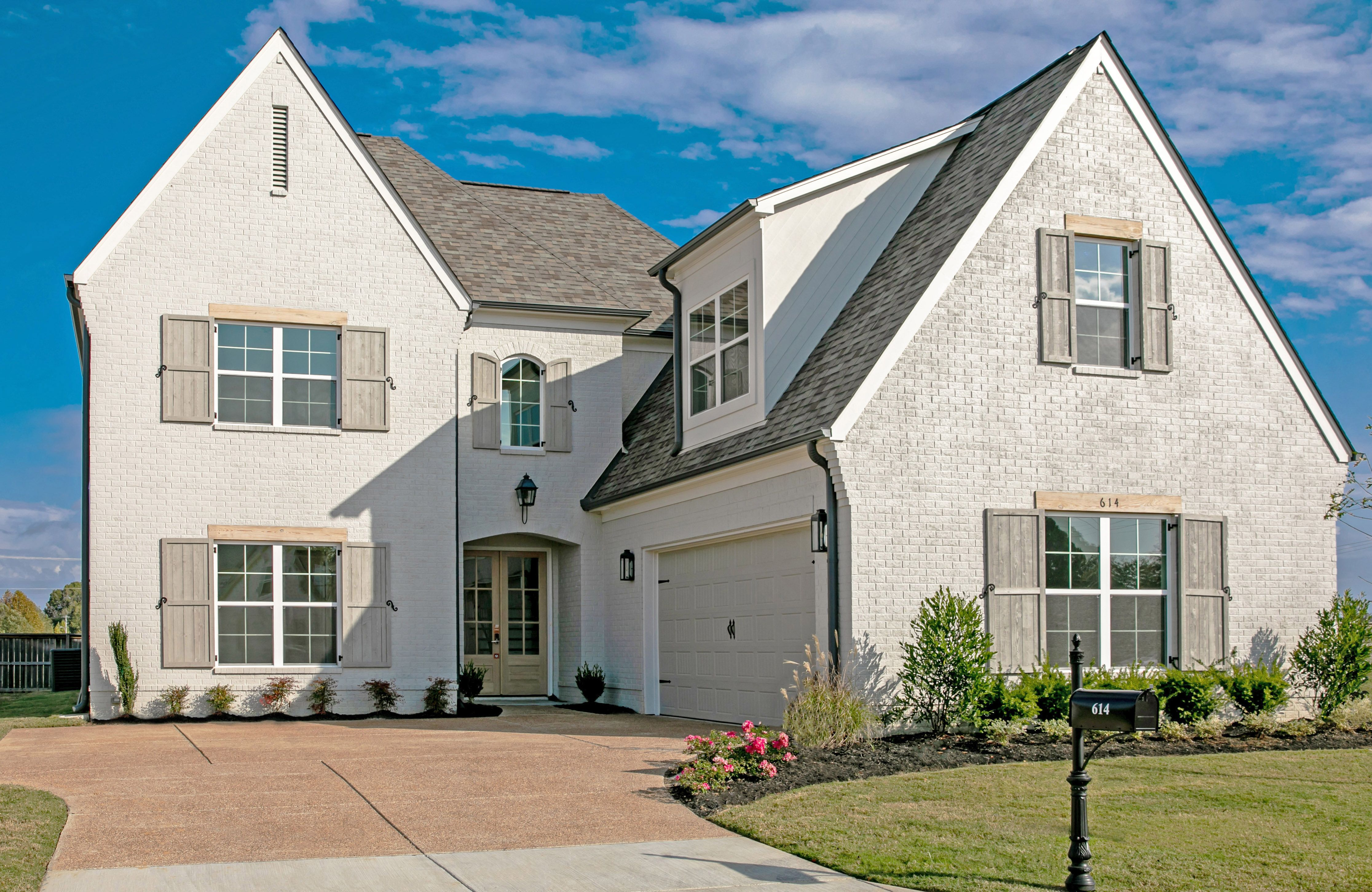 Exterior featured in the Overton By Regency Homebuilders in Memphis, TN
