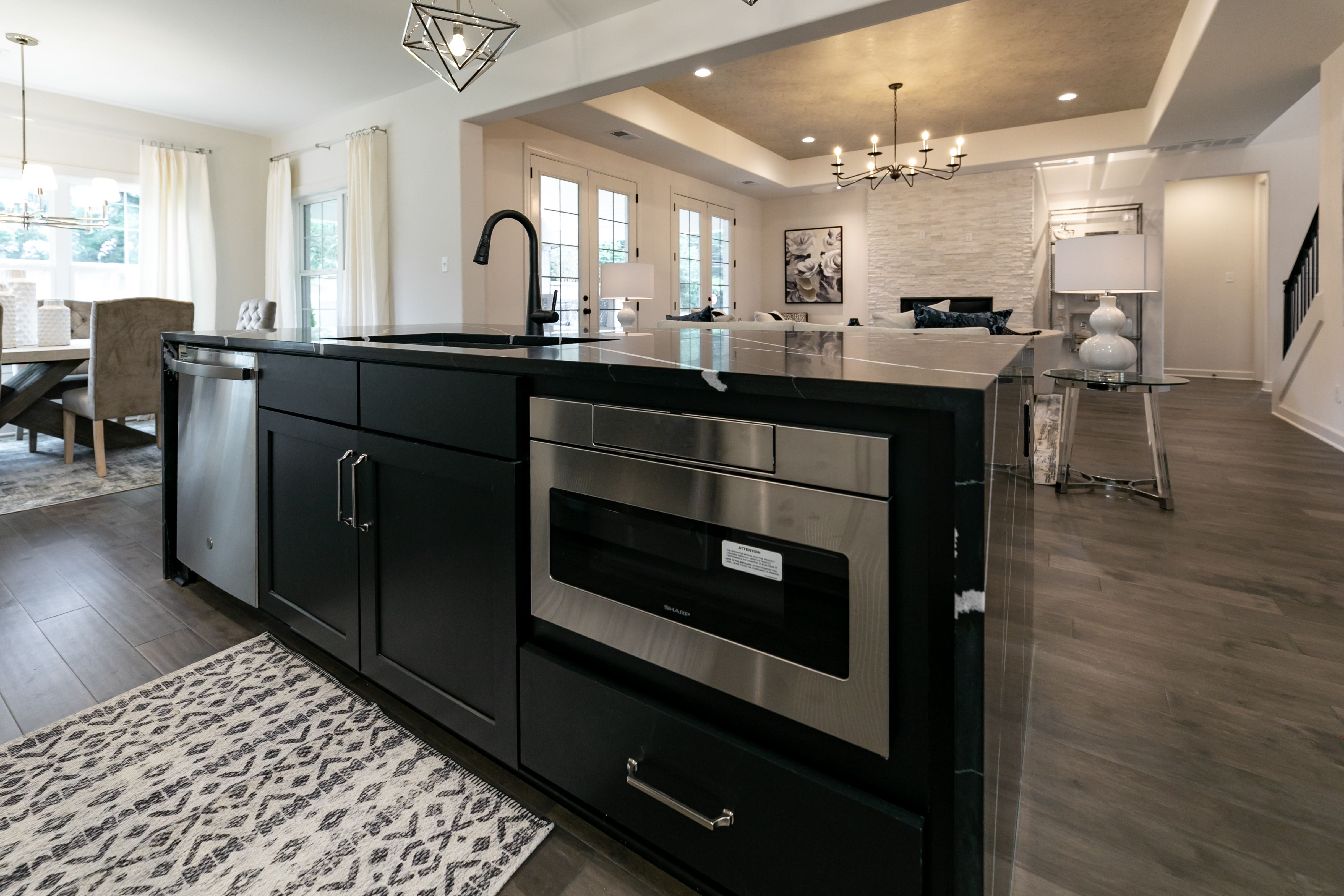 Kitchen featured in the Bailey By Regency Homebuilders in Memphis, TN