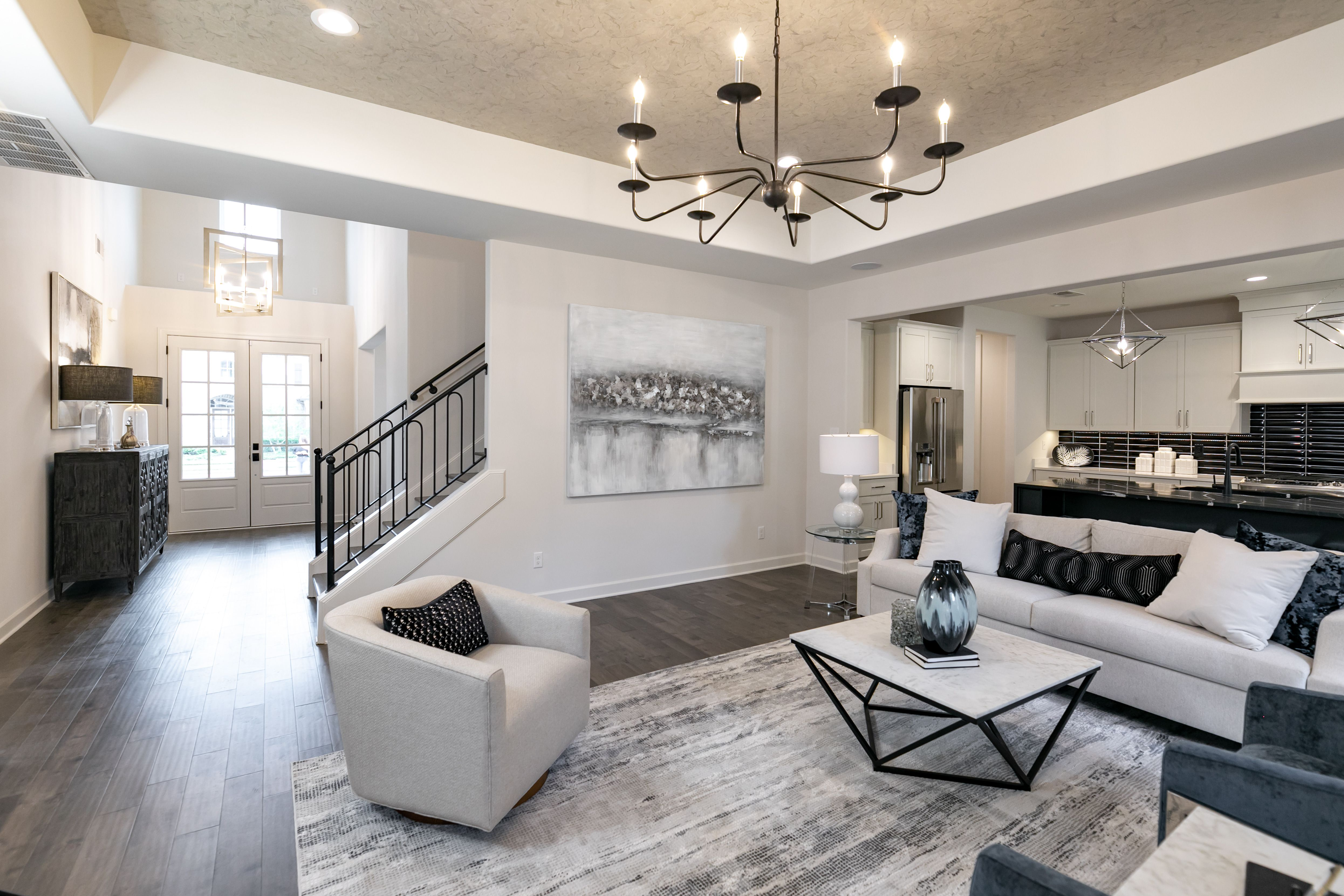 Living Area featured in the Bailey By Regency Homebuilders in Memphis, TN