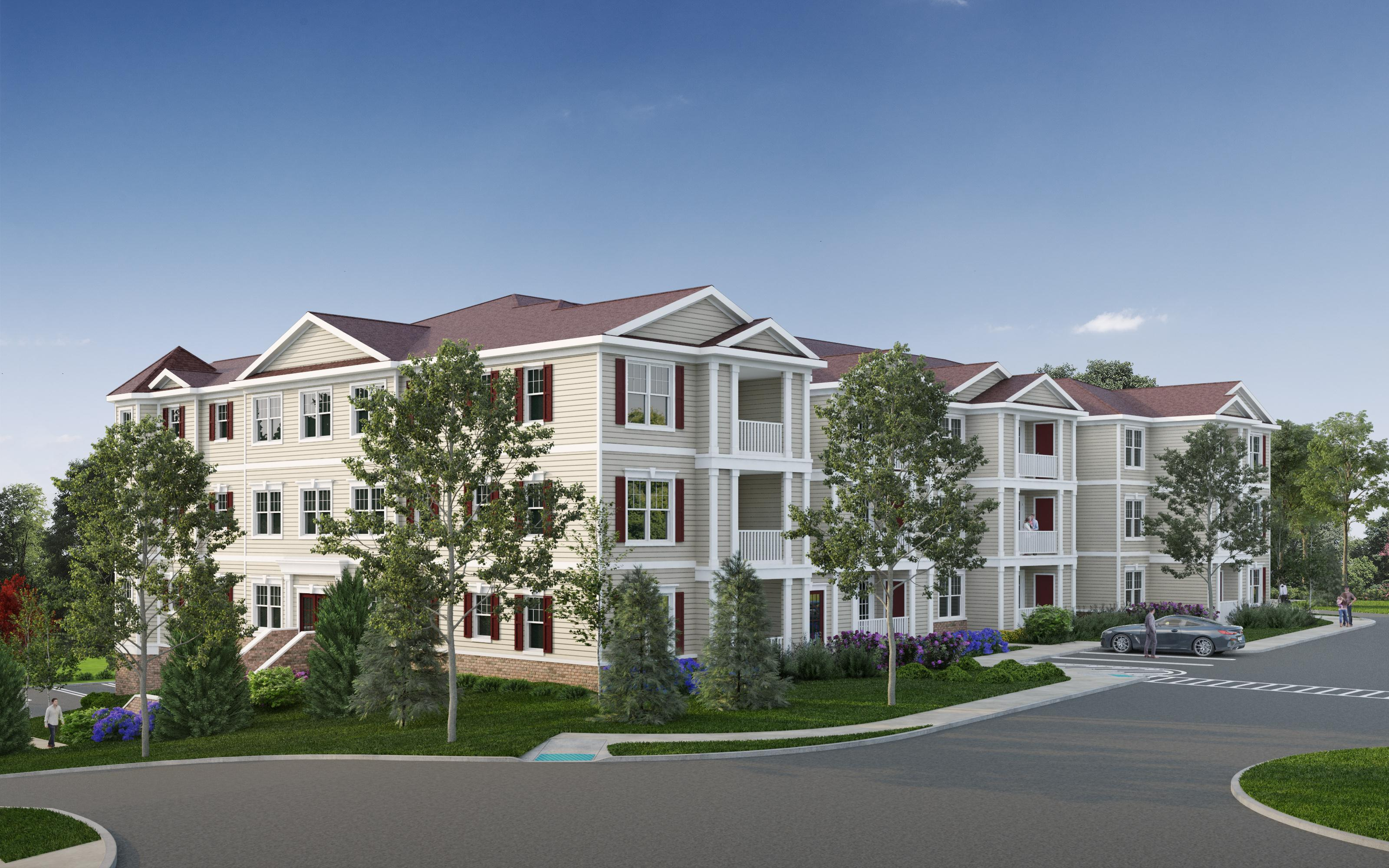 Exterior featured in The Drummond 1 By Renaissance Properties Inc. in Monmouth County, NJ