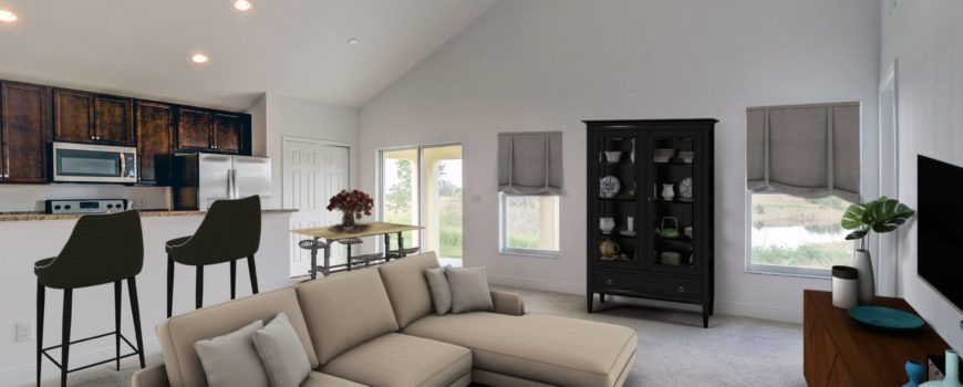 Living Area featured in the Seamist 2215 By Renar Homes in Martin-St. Lucie-Okeechobee Counties, FL