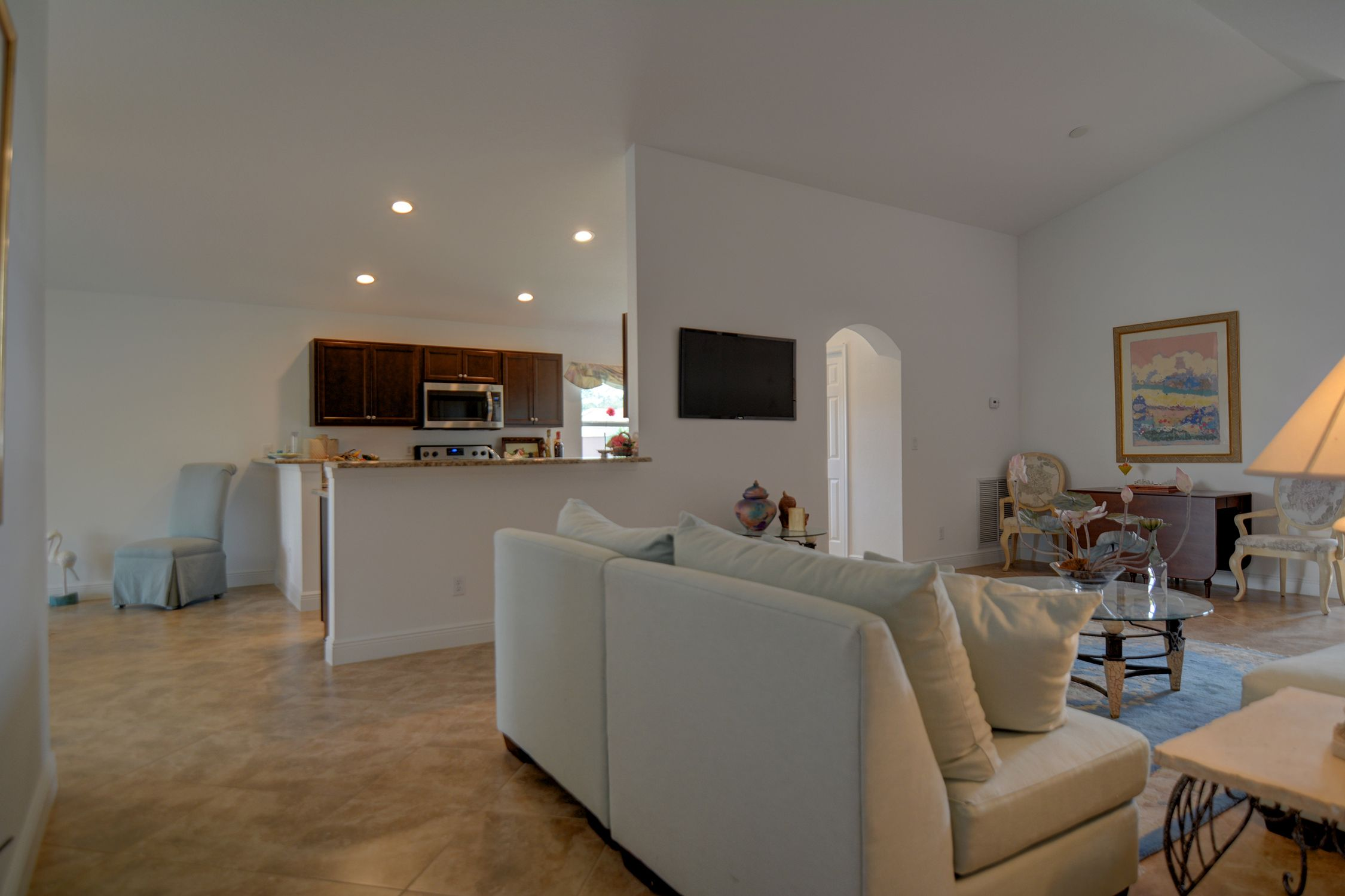 Living Area featured in the Cayman 1763 By Renar Homes in Martin-St. Lucie-Okeechobee Counties, FL
