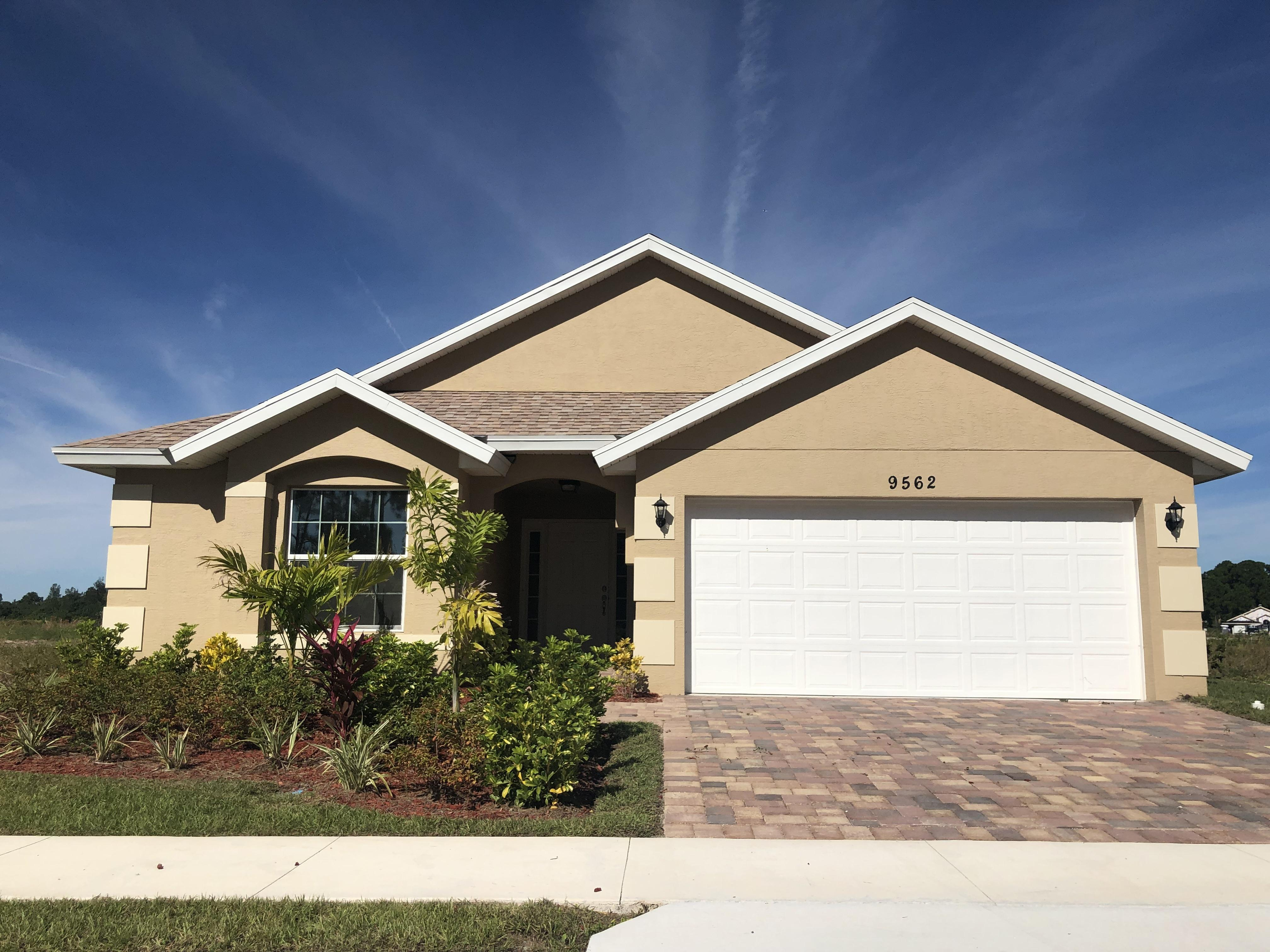 Exterior featured in the Cayman 1763 By Renar Homes in Martin-St. Lucie-Okeechobee Counties, FL