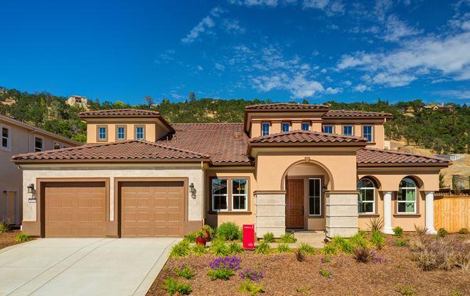 The Oaks At The Promontory In El Dorado Hills Ca New Homes Floor
