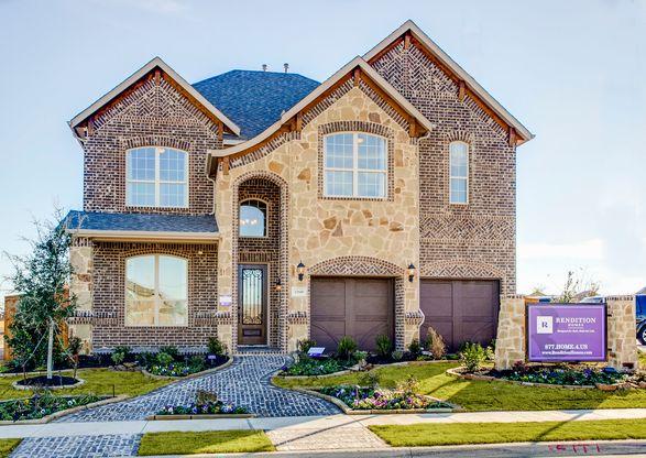 Eagle Ridge in Mckinney TX New Homes Floor Plans by Rendition Homes – Rendition Homes Floor Plans