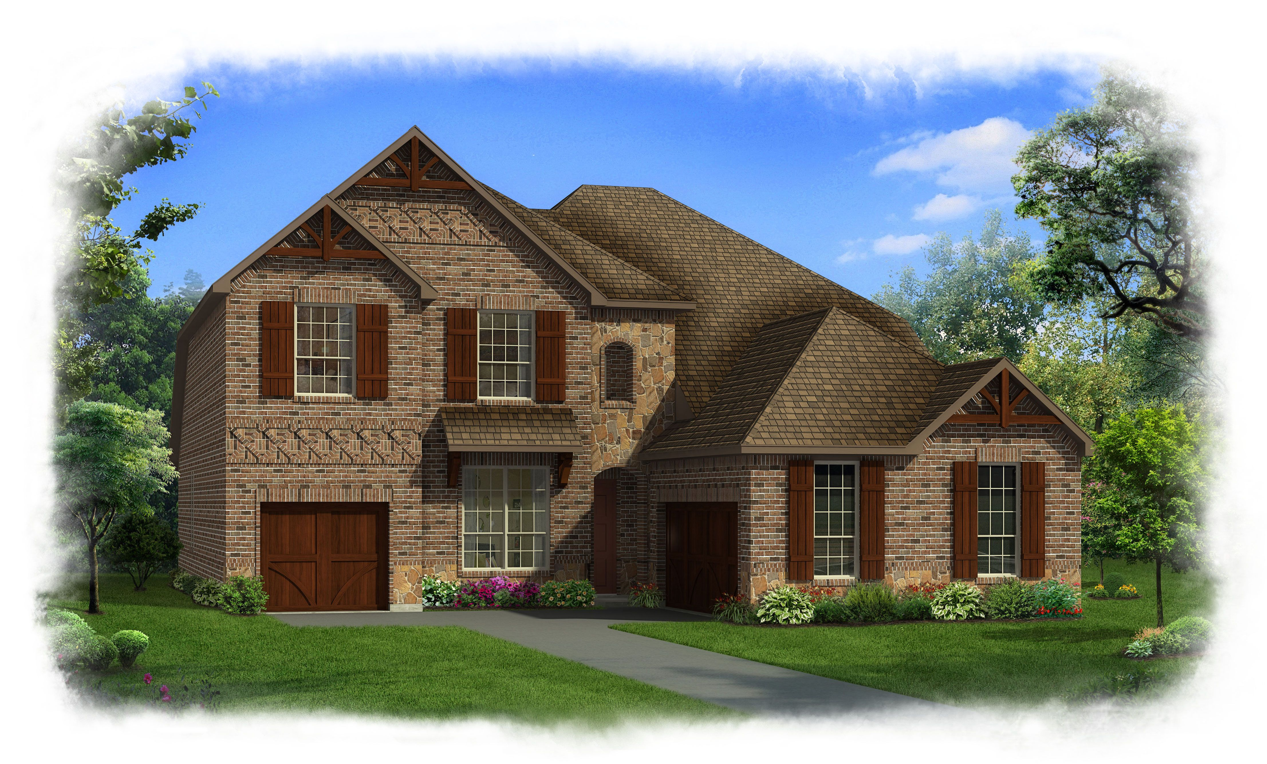Rendition Homes New Home Plans in Fort Worth TX | NewHomeSource