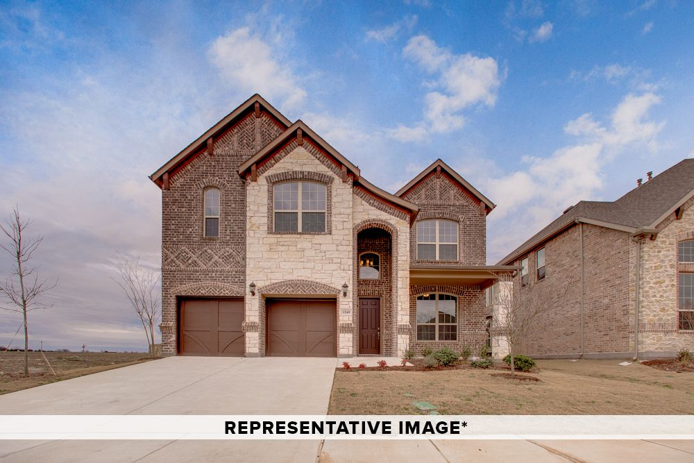 Exterior featured in the Mezzo By Rendition Homes in Fort Worth, TX
