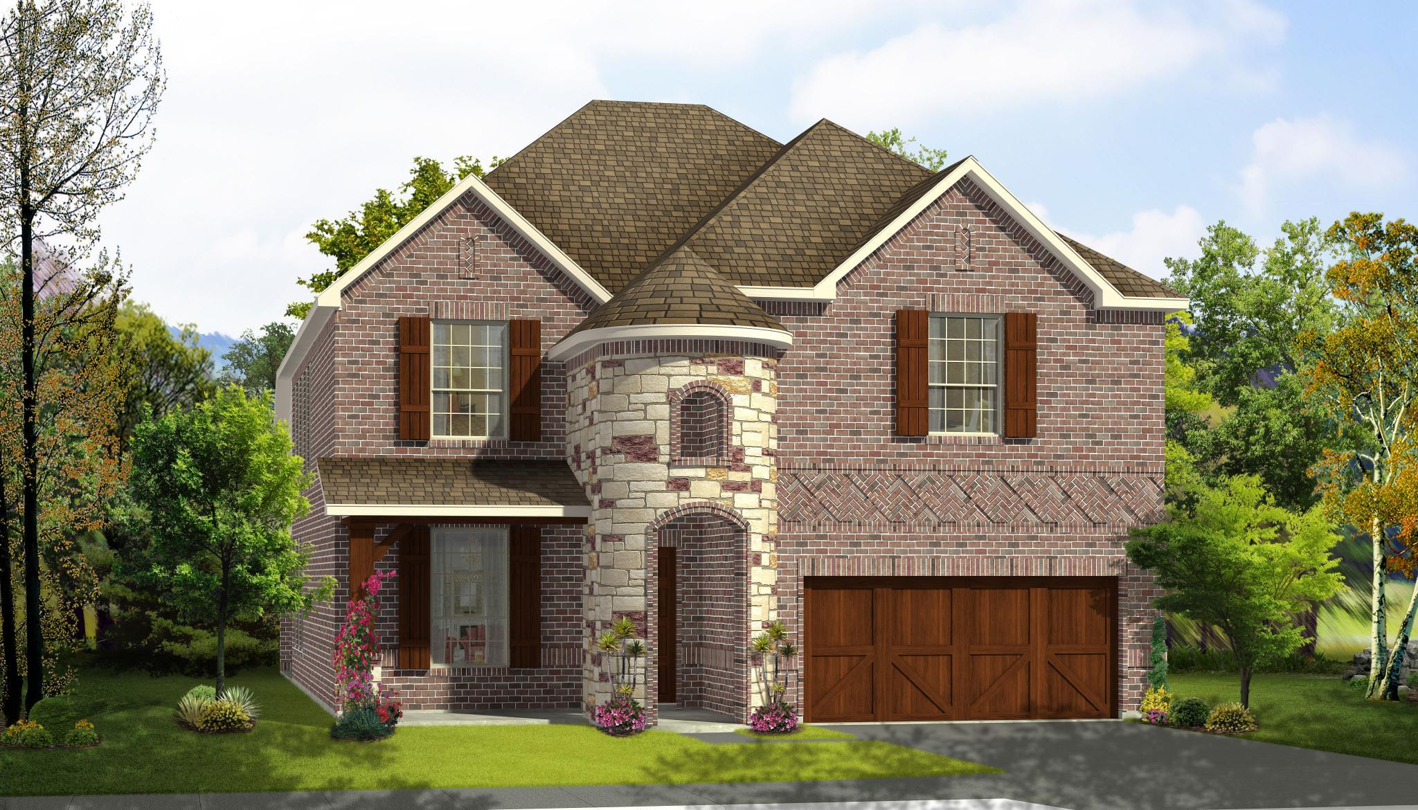 Exterior featured in the Mezzo By Rendition Homes in Dallas, TX