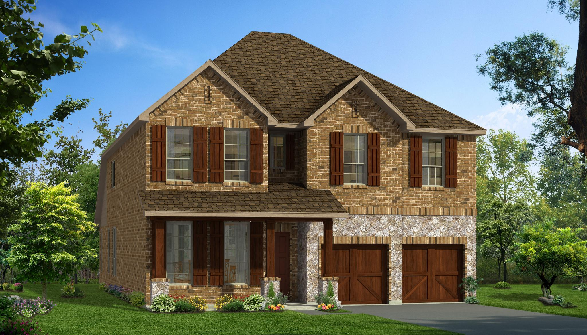 Exterior featured in the Aria By Rendition Homes in Fort Worth, TX